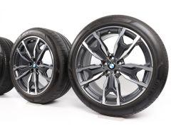 BMW Winterkompletträder X3 G01 X4 G02 20 Zoll Styling 787 M Doppelspeiche