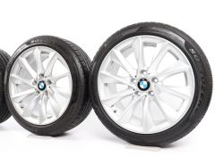 BMW Winter Wheels 3 Series F30 F31 4 Series F32 F33 F36 18 Inch Styling 415 Turbinenstyling