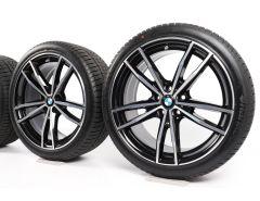 BMW Winterkompletträder 3er G20 G21 4er G22 G23 19 Zoll Styling 791 M Doppelspeiche