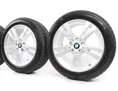 BMW Winter Wheels 2 Series F45 F46 17 Inch Styling 385 Double-Spoke