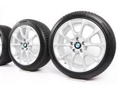 BMW Winterkompletträder 3er F30 F31 4er F32 F33 F36 18 Zoll Styling 398 Y-Speiche