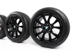 BMW Winterkompletträder X5 F15 19 Zoll Styling 450 V-Speiche