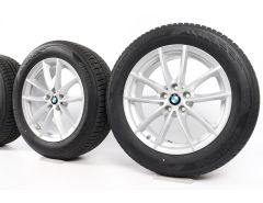 BMW Winterkompletträder X5 G05 X6 G06 18 Zoll Styling 618 V-Speiche