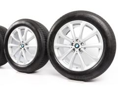 BMW Winterkompletträder X7 G07 20 Zoll Styling 750 V-Speiche