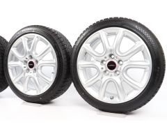 MINI Velgen met Winterbanden F55 F56 F57 17 Inch Styling JCW Race Spoke 498