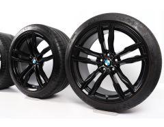 BMW Sommerkompletträder X5M F85 X6M F86 21 Zoll Styling 612 M Doppelspeiche