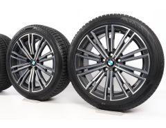BMW Winterkompletträder 3er G20 G21 4er G22 G23 18 Zoll Styling 790 M Doppelspeiche
