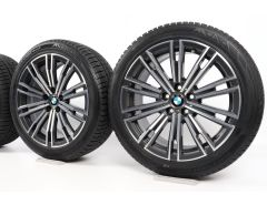 BMW Velgen met Winterbanden 3 Serie G20 G21 4 Serie G22 G23 18 Inch Styling 790 M Doppelspeiche