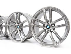 BMW Alloy Rims 5 Series G30 G31 18 Inch Styling 662 M Double-Spoke