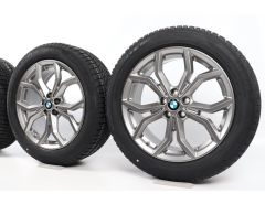BMW Velgen met Winterbanden X3 G01 X4 G02 19 Inch Styling 694 Y-Speiche