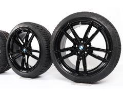 BMW Winterkompletträder 3er G20 G21 19 Zoll Styling 791 M Doppelspeiche