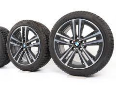 BMW Winterkompletträder 1er F40 2er F44 17 Zoll Styling 548 Doppelspeiche