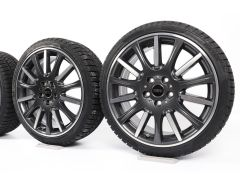 MINI Velgen met Winterbanden F55 F56 F57 18 Inch Styling High Spoke 596