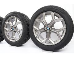 BMW Winterkompletträder X3 G01 X4 G02 19 Zoll Styling 693 Y-Speiche