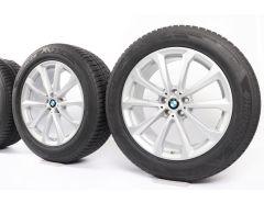 BMW Velgen met Zomerbanden X7 G07 20 Inch Styling 750 V-Speiche