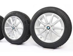BMW Winterkompletträder X1 F48 X2 F39 17 Zoll Styling 560 V-Speiche