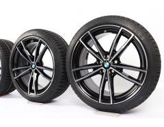 BMW Velgen met Winterbanden 3 Serie G20 G21 19 Inch Styling 791 M Doppelspeiche