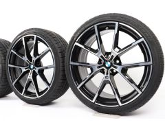 BMW Winter Wheels 8 Series G14 G15 G16 20 Inch Styling 728 M Y-Spoke