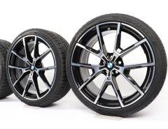 BMW Winterkompletträder 8er G14 G15 G16 20 Zoll Styling 728 M Y-Speiche