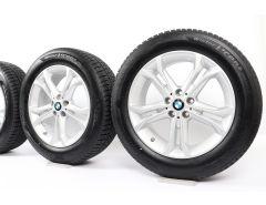 BMW Winterkompletträder X3 G01 X4 G02 18 Zoll Styling 688 Doppelspeiche