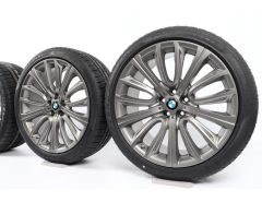 BMW Winter Wheels 6 Series G32 7 Series G11 G12 20 Inch Styling 628 V-Speiche