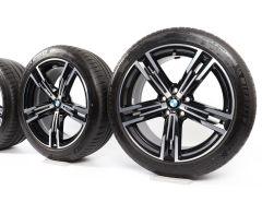 BMW Velgen met Zomerbanden 3 Serie G20 G21 4 Serie G22 G23 18 Inch Styling 848 M Doppelspeiche