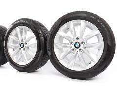 BMW Winterkompletträder X3 F25 X4 F26 18 Zoll Styling 307 V-Speiche