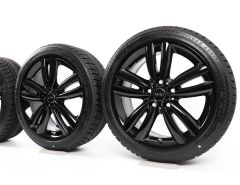 MINI Velgen met Winterbanden F55 F56 F57 17 Inch Styling 562 Track Spoke