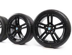 BMW Winterkompletträder 1er F20 F21 2er F22 F23 18 Zoll Styling 719 M Doppelspeiche