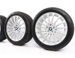 BMW Velgen met Winterbanden 5 Serie G30 G31 18 Inch Styling 619 Vielspeiche