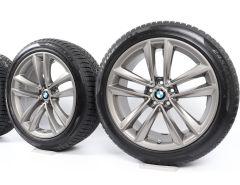 BMW Velgen met Winterbanden 6 Serie G32 7 Serie G11 G12 19 Inch Styling 630 Doppelspeiche