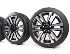 MINI Velgen met Winterbanden F55 F56 F57 17 Inch Styling Seven Spoke 497