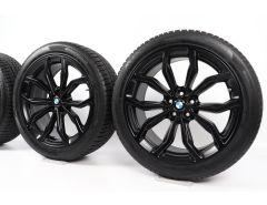 BMW Winter Wheels X3 G01 X4 G02 20 Inch Styling 695 Y-Spoke