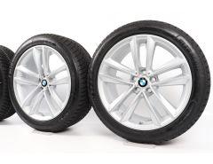 BMW Winterkompletträder 6er G32 7er G11 G12 19 Zoll Styling 630 Doppelspeiche
