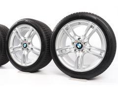 BMW Velgen met Winterbanden 3 Serie F30 F31 F34 4 Serie F32 F33 F36 18 Inch Styling 400 M Sternspeiche