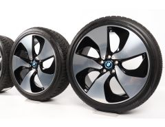 BMW Winterkompletträder i8 I12 I15 20 Zoll Styling 444 Turbinenstyling