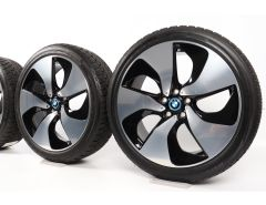 BMW Winterkompletträder i8 I12 Coupé 20 Zoll Styling 444 Turbinenstyling