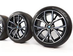BMW Ganzjahresräder 5er G30 G31 19 Zoll Styling 845 M Y-Speiche