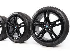 BMW Winterkompletträder 1er F40 2er F44 18 Zoll Styling 819 M Doppelspeiche