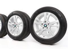 BMW Winterkompletträder 2er F45 F46 16 Zoll Styling 473 Doppelspeiche
