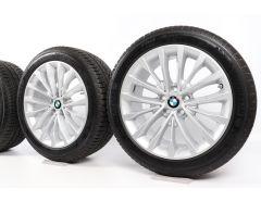BMW Winterkompletträder 5er G30 G31 18 Zoll Styling 632 W-Speiche