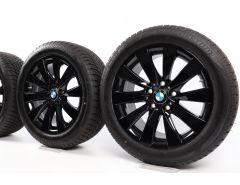 BMW Winterkompletträder 3er F30 F31 4er F32 F33 F36 17 Zoll Styling 413 V-Speiche