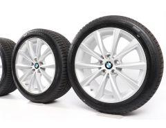 BMW Winter Wheels 5 Series G30 G31 18 Inch Styling 642 V-Speiche