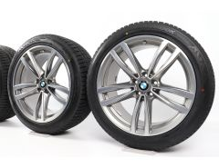 BMW Winter Wheels 6 Series G32 7 Series G11 G12 19 Inch Styling 647 M Double-Spoke