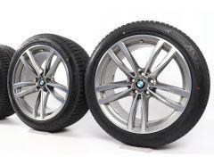 BMW Velgen met Winterbanden 6 Serie G32 7 Serie G11 G12 19 Inch Styling 647 M Doppelspeiche