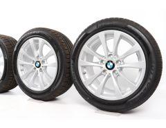 BMW Winterkompletträder 3er F30 F31 4er F32 F33 F36 17 Zoll Styling 395 V-Speiche