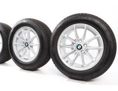 BMW Sommerkompletträder 3er G20 G21 16 Zoll Styling 774 V-Speiche