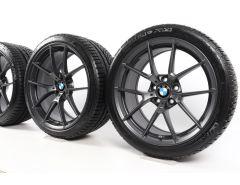 BMW Sommerkompletträder M3 F80 M4 F82 F83 19 Zoll 20 Zoll Styling 763 M Y-Speiche