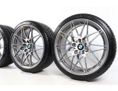 BMW Winterkompletträder M4 F82 F83 M3 F80 20 Zoll Styling 666 M Sternspeiche