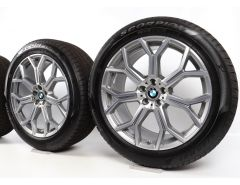BMW All-Season Wheels X7 G07 21 Inch Styling 753 Y-Speiche